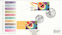 2000-05-22 Clown Stamp From LS1 and LS5 FDC (63967)