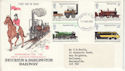 1975-08-13 Railways Stamps Liverpool FDC (63982)