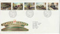 1985-01-22 Famous Trains Stamps Bureau FDC (64004)