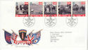 1994-06-06 D-Day Stamps Bureau FDC (64006)