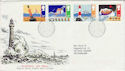 1985-06-18 Safety at Sea Stamps Bureau FDC (64011)