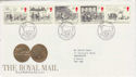 1984-07-31 Mail Coach Stamps Bureau FDC (64013)