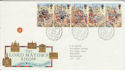 1989-10-17 Lord Mayor's Show Stamps Bureau FDC (64017)