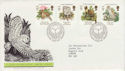 1986-05-20 Species At Risk Stamps Bureau FDC (64020)