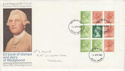 1980-04-16 Wedgwood Definitive Bklt Stamps FDC (64022)
