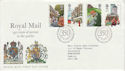 1985-07-30 Royal Mail 350th Stamps Bureau FDC (64037)