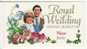 Niue Royal Wedding Official Booklet Stamps (64070)
