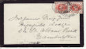 Queen Victoria Stamp Used on Cover Inveraray 1899 (64094)