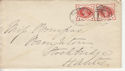 Queen Victoria Stamp Used on Cover Clifton 1893 (64095)