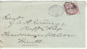 Queen Victoria Stamp Used on Cover London 1883 (64106)