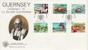 1982-04-28 Guernsey Societe Stamps FDC (64120)
