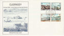 1983-03-14 Guernsey Europa Harbours Stamps FDC (64123)