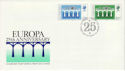 1984-04-10 Guernsey Europa Stamps FDC (64127)