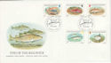 1985-01-22 Guernsey Fish Stamps FDC (64129)