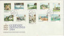 1984-09-18 Guernsey Definitive Stamps FDC (64138)