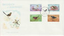 1978-08-29 Guernsey Birds Stamps FDC (64141)