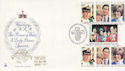 1981-07-29 Guernsey Royal Wedding Stamps FDC (64165)