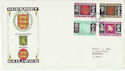 1969-10-01 Guernsey Definitive Stamps FDC (64176)