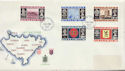 1969-10-01 Guernsey Definitive Stamps FDC (64177)