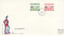 1980-02-05 Guernsey Postage Due Stamps FDC (64192)