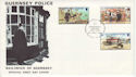 1980-05-06 Guernsey Police Stamps FDC (64196)