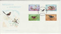 1978-08-29 Guernsey Birds Stamps FDC (64219)