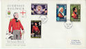 1969-12-01 Guernsey Sir Isaac Brock Stamps FDC (64221)