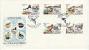 1984-06-12 Alderney Birds Stamps FDC (64241)