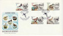 1984-06-12 Alderney Birds Stamps FDC (64243)