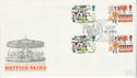 1983-10-05 British Fairs Gutter Stamps Staines FDC (64286)