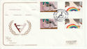 1981-03-25 Disabled Year Part Set Gutters FDC (64288)