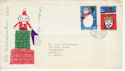 1966-12-01 Christmas Stamps Bethlehem FDC (64302)