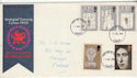 1969-07-01 Investiture Stamps Cardiff FDC (64312)