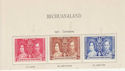 Bechuanaland Stamps on Piece (64368)