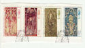 1974-11-27 Christmas Stamps Used on Piece (64391)