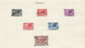 Italy Stamps on Page (64444)