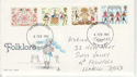 1981-02-06 Folklore Stamps Llanelli FDC (64482)