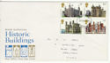 1978-03-01 Historic Buildings Stamps Grantham FDC (64511)