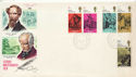1970-06-03 Literary Anniversaries Chingford cds FDC (64520)