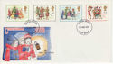 1978-11-22 Christmas Stamps Exeter FDC (64544)
