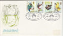 1980-01-16 British Birds Stamps Hull FDC (64616)
