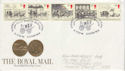 1984-07-31 Mailcoach Stamps London WC2 FDC (64625)