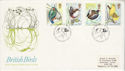 1980-01-16 British Birds Stamps Sandy FDC (64631)