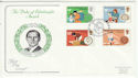 1981-08-12 Duke of Edinburgh Award London W2 FDC (64638)