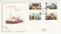 1981-09-23 Fishing Industry Stamps Plymouth FDC (64775)