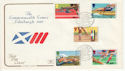 1986-07-15 Commonwealth Games Stamps Bureau FDC (64782)