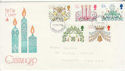 1980-11-19 Christmas Stamps Devon FDC (64785)