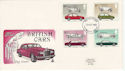 1982-10-13 Motor Cars Stamps Plymouth FDC (64788)