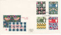 1982-07-23 British Textiles Stamps Plymouth FDC (64790)