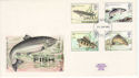 1983-01-26 River Fish Stamps Plymouth FDC (64792)